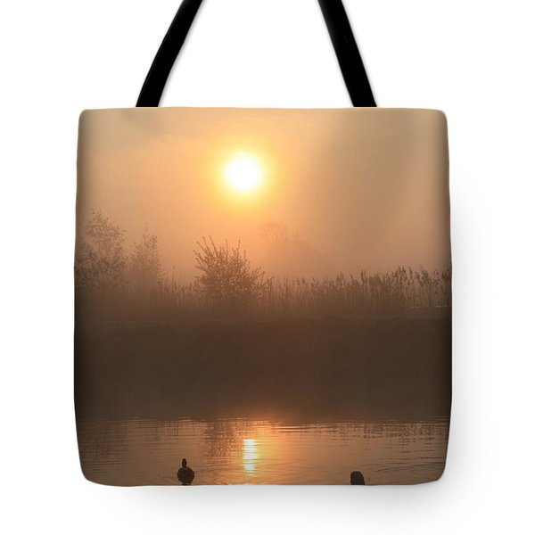 Follow Us Tote Bag by Linsey Williams