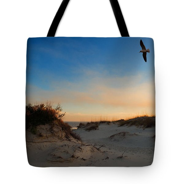 Tote Bag featuring the photograph Follow Your Dreams by Laura Ragland