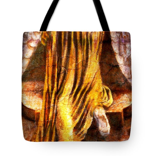 Following A Path Not Taken By Mortals Tote Bag