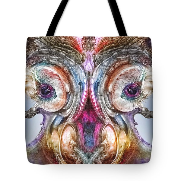 Tote Bag featuring the digital art Fomorii Incubator Remix by Otto Rapp