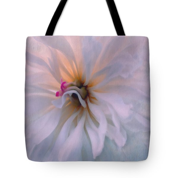 Tote Bag featuring the photograph Romance by Jean OKeeffe Macro Abundance Art