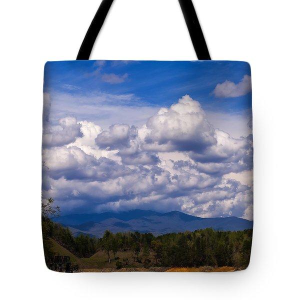 Fontana Lake Storm 2 Tote Bag