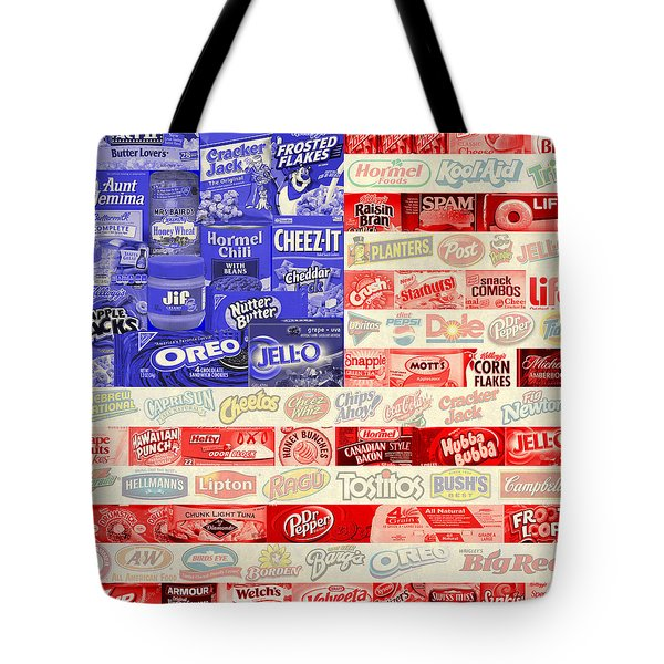 Food Advertising Flag Tote Bag