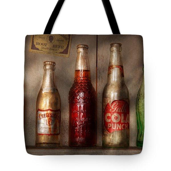 Food - Beverage - Favorite Soda Tote Bag by Mike Savad