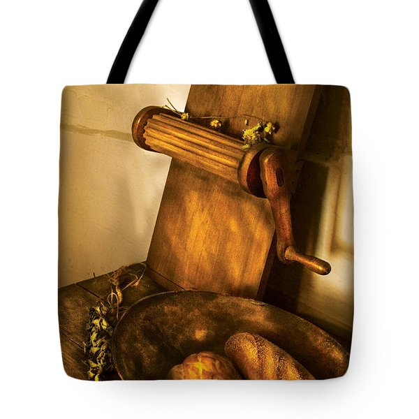 Food -  Bread  Tote Bag by Mike Savad
