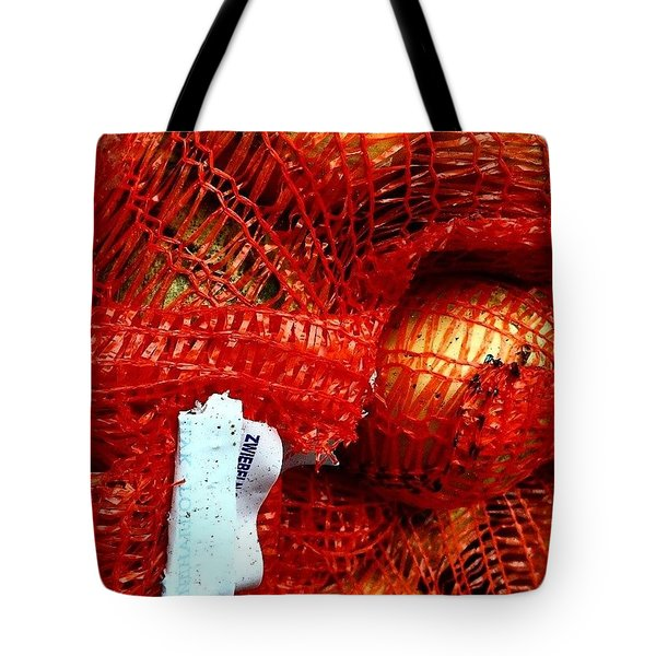 Onions In A Sack Tote Bag by Jason Michael Roust