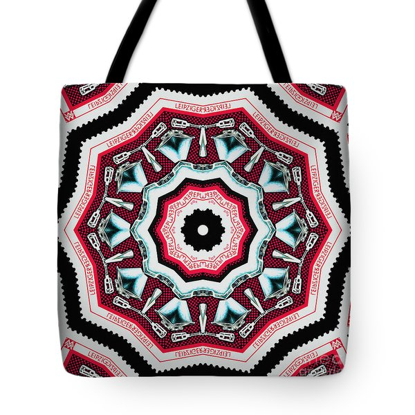 Food Mixer Mandala Tote Bag by Andy Prendy