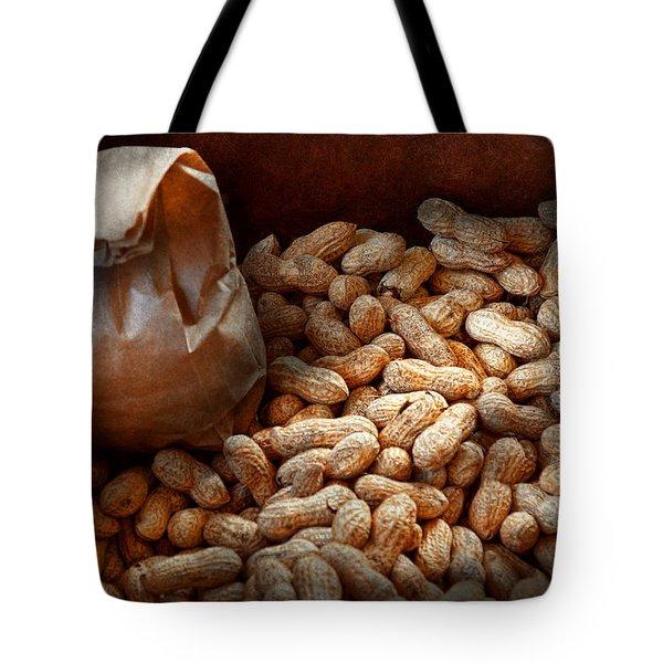 Food - Peanuts  Tote Bag by Mike Savad