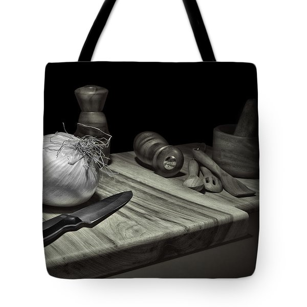 Food Prep Still Life Tote Bag