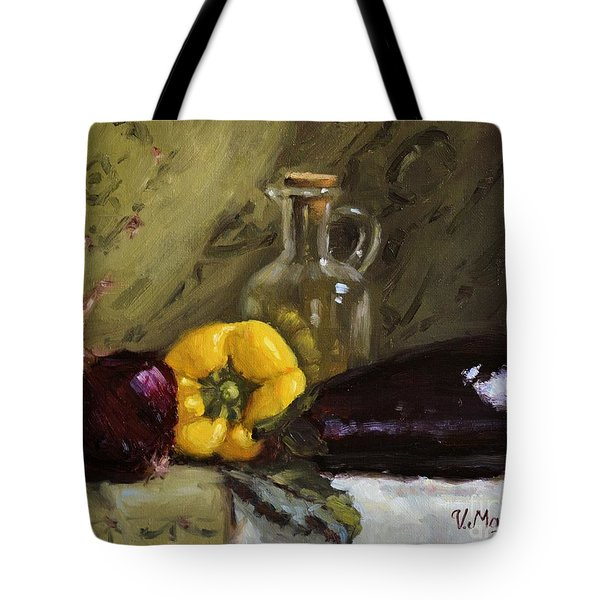 Food Still Life Tote Bag