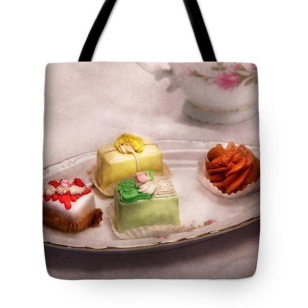 Food - Sweet - Cake - Grandma's Treats  Tote Bag by Mike Savad