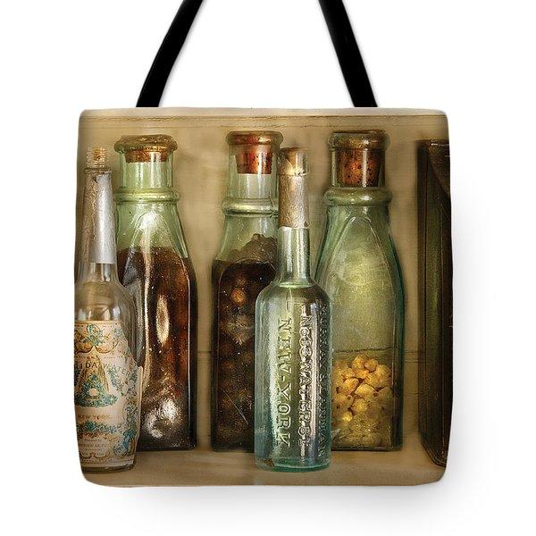 Food - The Ingredients  Tote Bag by Mike Savad