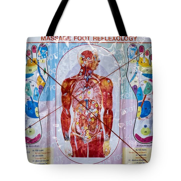 Foot Massage Tote Bag