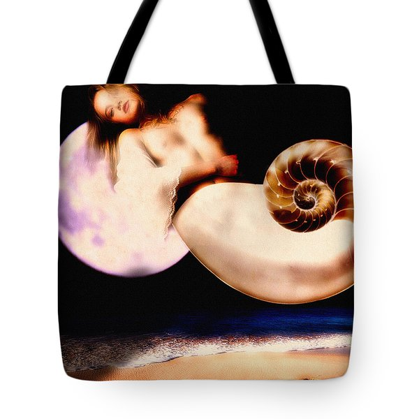 Foot Prinnts In The Sand Tote Bag by Bob Orsillo