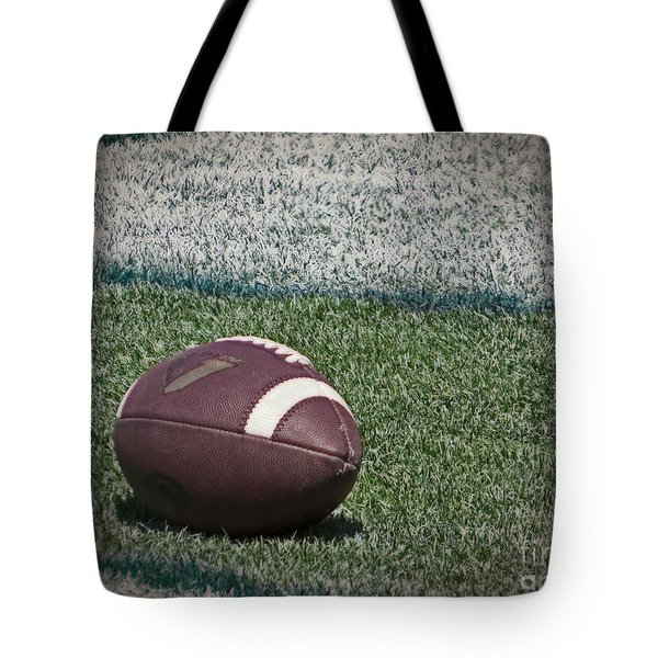 An American Football Tote Bag