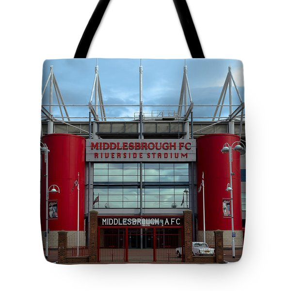 Football Stadium - Middlesbrough Tote Bag