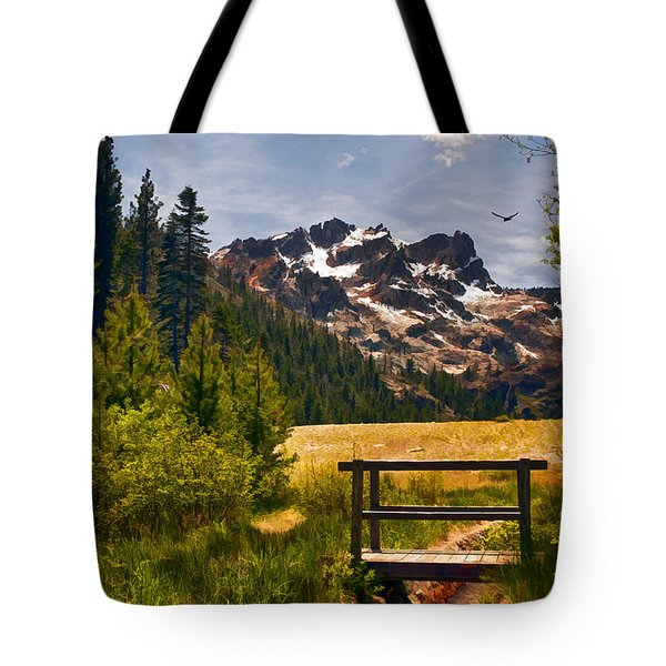 Footbridge Tote Bag