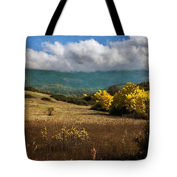 Foothill Autumn In Southern Oregon Tote Bag by Mick Anderson