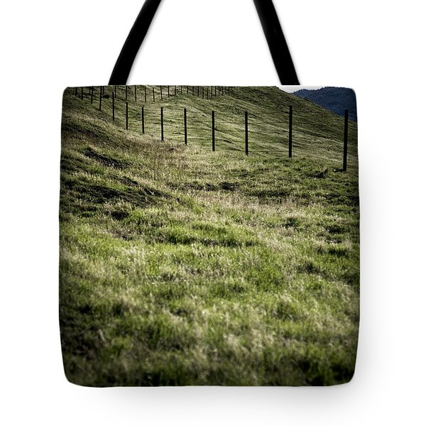 Foothills Of The Tehachipis Tote Bag by Rich Collins