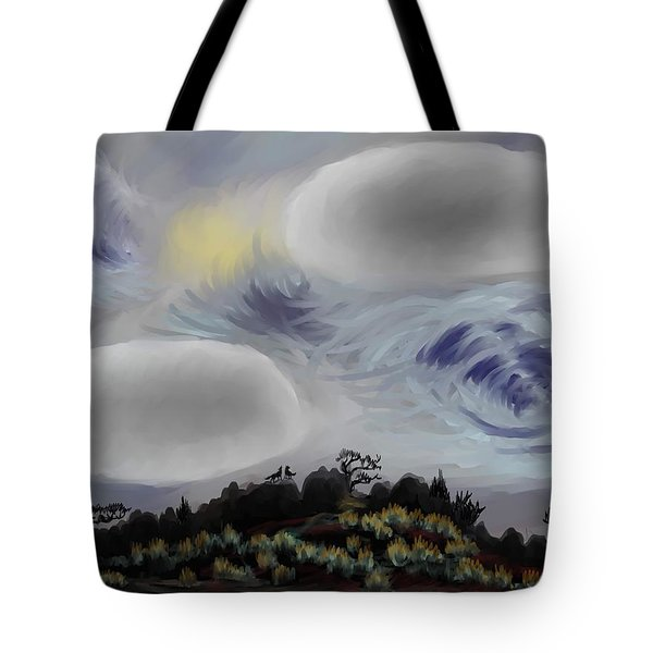 Foothills Sunrise On My Morning Walk Tote Bag by Dawn Senior-Trask