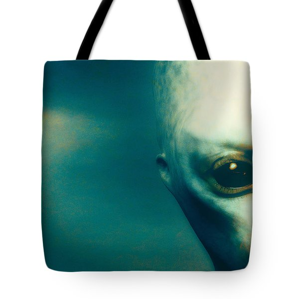 For Betty And Barney Hill Tote Bag by Bob Orsillo