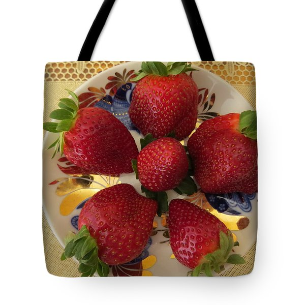 For Dessert II Tote Bag by Zina Stromberg