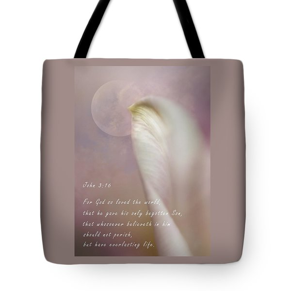 For God So Loved The World Tote Bag