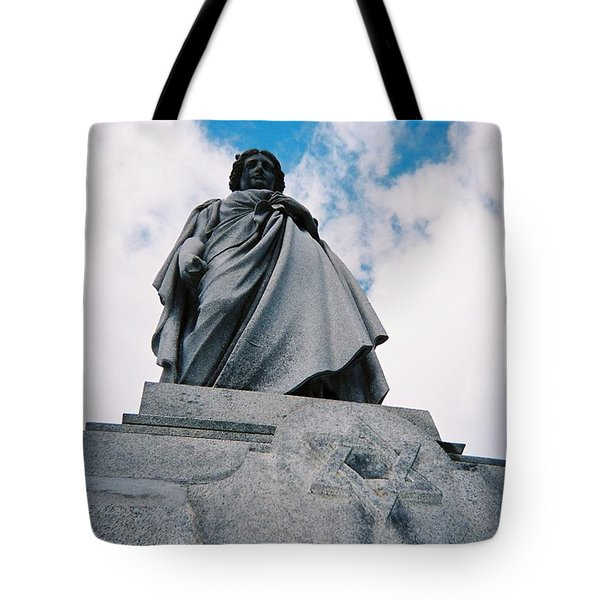 Tote Bag featuring the photograph For Israel Tikkun by Peter Gumaer Ogden