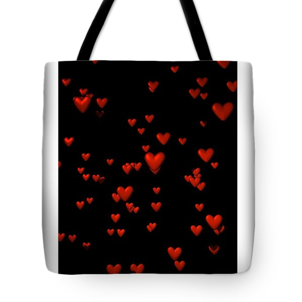 Tote Bag featuring the digital art For My Girl... by Tim Fillingim