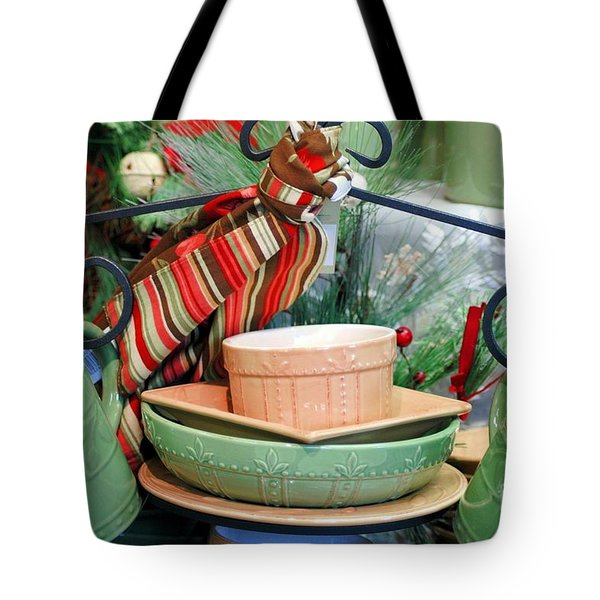 For The Kitchen Tote Bag by Kathleen Struckle