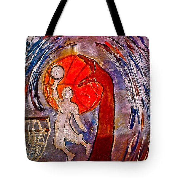 For The Love Of Basketball Tote Bag