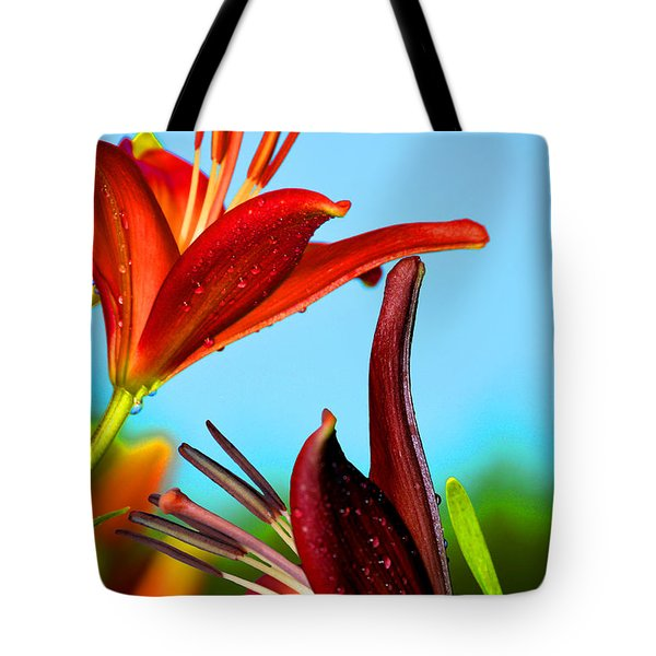 For The Love Of Lillies Tote Bag