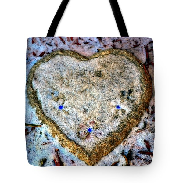Tote Bag featuring the photograph For The Love Of Winter by Deena Stoddard