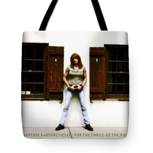 Thrill Of The Ride  Tote Bag