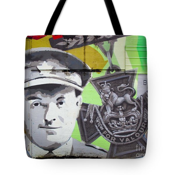 For Valour Tote Bag by Chris Dutton