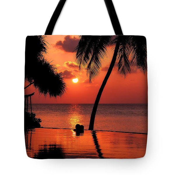 For You. Dream Coming True I. Maldives Tote Bag by Jenny Rainbow