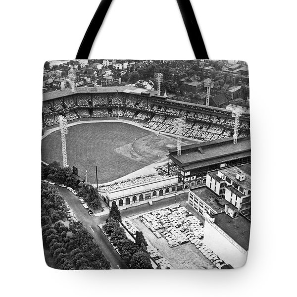 Forbes Field In Pittsburgh Tote Bag