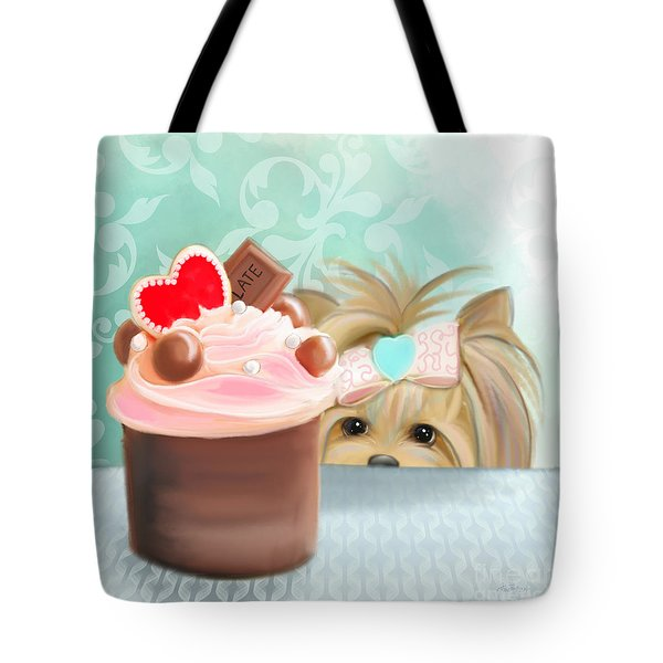 Forbidden Cupcake Tote Bag