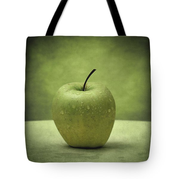 Forbidden Fruit Tote Bag by Taylan Apukovska