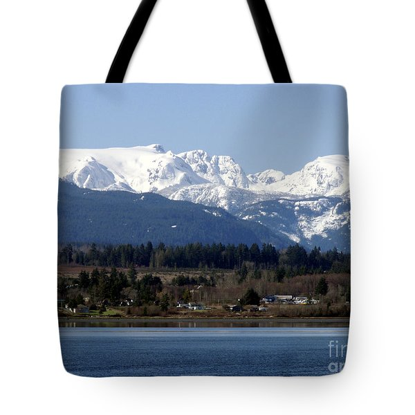 Forbidden Plateau Tote Bag by Sharon Talson