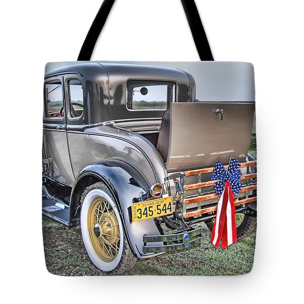 Tote Bag featuring the photograph Ford Classic by Dyle   Warren