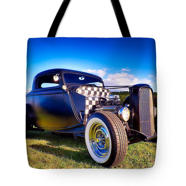 Ford Coupe Hot Rod Tote Bag