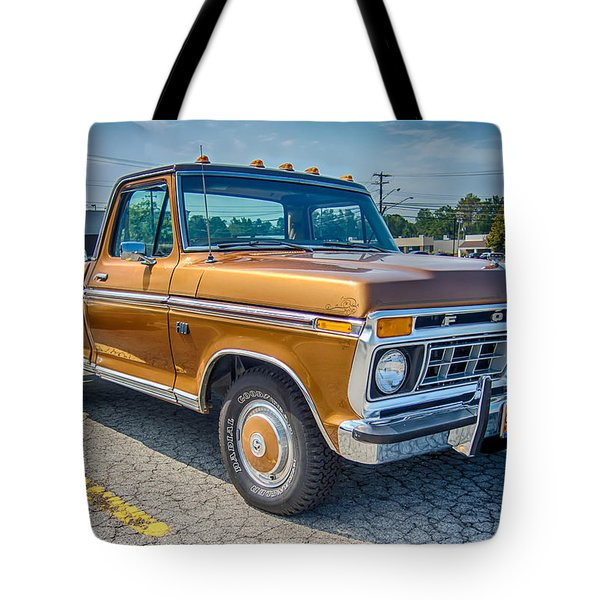 Ford F-100 7p00531h Tote Bag