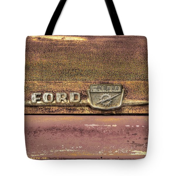 Ford F-100 Tote Bag