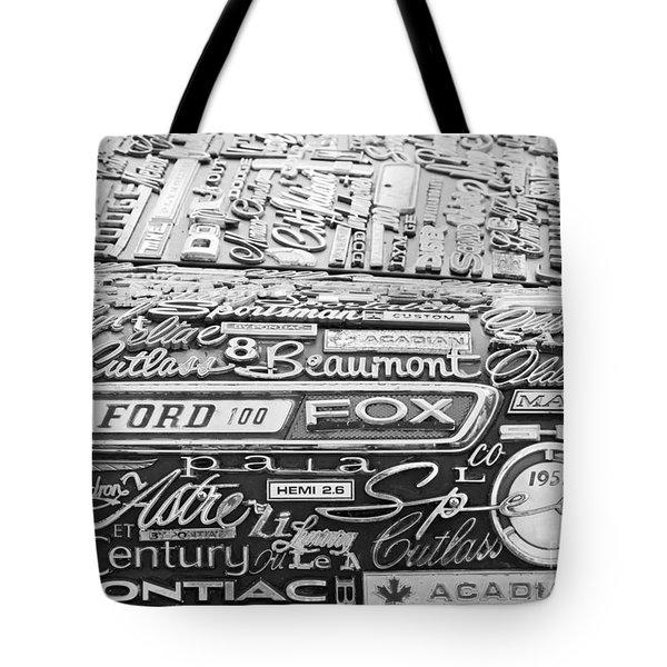 Ford Fox Tote Bag by Chris Dutton