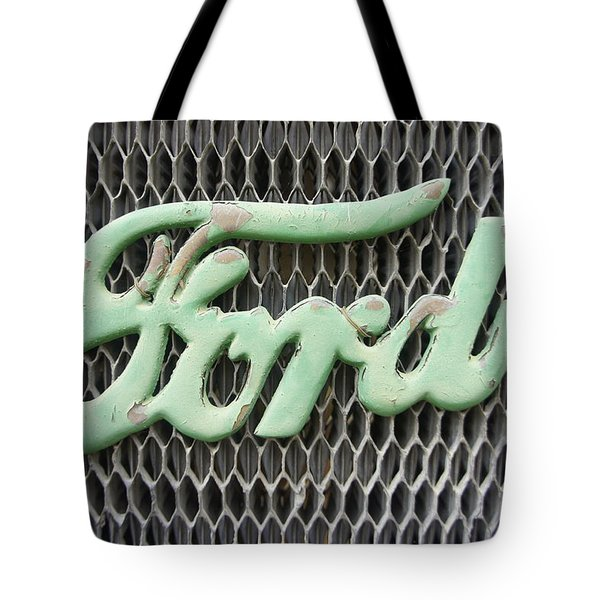 Ford Grille Tote Bag