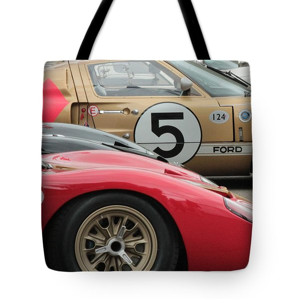 Ford Gt 40's Tote Bag