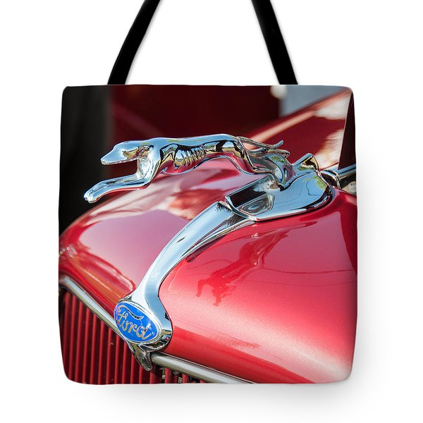 Ford Hood Tote Bag by Guy Whiteley