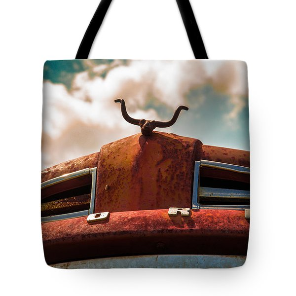 Ford Hood Ornament Tote Bag