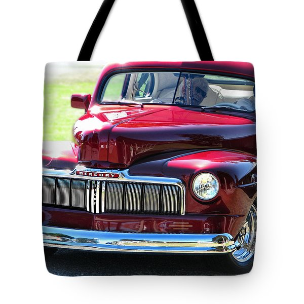 Ford Mercury Eight Tote Bag